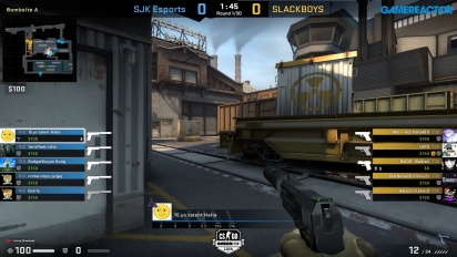 OMEN by HP Liga - Divison 1 Round 9 - SJK Esports vs SLACKBOYS on Train.