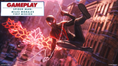 Spider-Man: Miles Morales - First Mission Gameplay Montage - with ray-tracing enabled