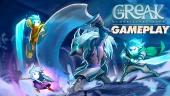 Greak: Memories of Azur - Gameplay