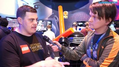Lego Star Wars: The Force Awakens - Entrevista Jamie Eden