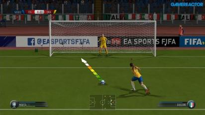 FIFA 18 - Jogabilidade Switch #2