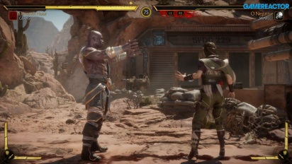 Mortal Kombat 11 - Geras vs Skarlet Gameplay