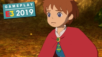 Ni no Kuni: Wrath of the White Witch Remastered - E3 Gameplay
