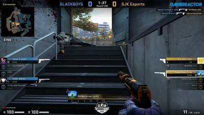 OMEN by HP Liga - Divison 1 Round 9 - SJK Esports vs SLACKBOYS on Overpass.