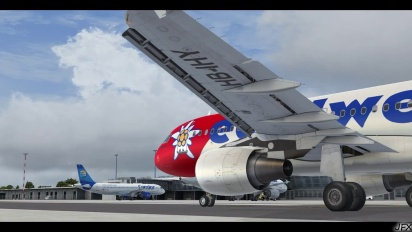 Flight Simulator X - Mega Airport Berlin-Brandenburg BER Opening Trailer