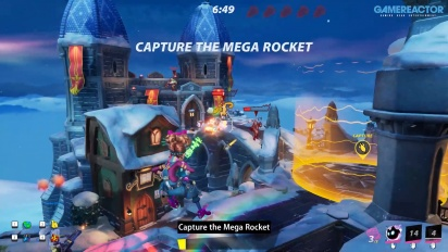 Rocket Arena - Flux in Mega Rocket Mode Gameplay