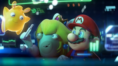 Mario + Rabbids: Sparks of Hope - Cinematic Reveal Trailer