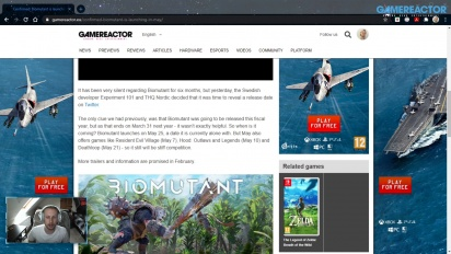 GRTV News - Biomutant gets a release date