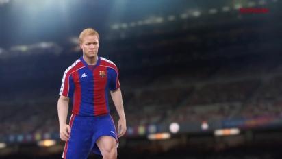 Pro Evolution Soccer 2017 - FC Barcelona Legends Trailer 3