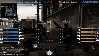OMEN by HP Liga - Divison 8 Round 8 - Comvibrationem Manu vs Allnighters eSports on Train.