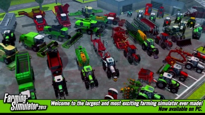 Farming Simulator 2013 - The #1 Farming Simulator Game Trailer