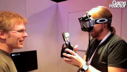E3 12: John Carmack's VR Visor Presentation