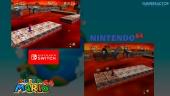 Super Mario 64: Nintendo 64 VS Switch Graphics Comparison