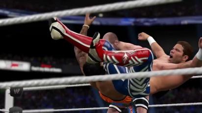 WWE 2K15 - Moves Pack DLC Trailer