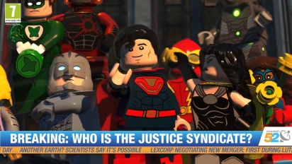 Lego DC Super-Villains - San Diego Comic-Con Trailer