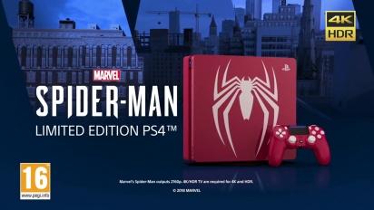 Spider-Man - Limited Edition PS4 Bundle Trailer