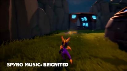 Spyro Reignited Trilogy - New and Original Music Option