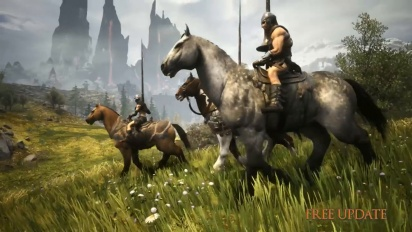 Conan Exiles - Mounts and Riders of Hyboria Trailer