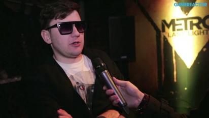 Metro: Last Light - Interview Dmitry Glukhovsky