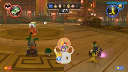 Mario Kart 8 Deluxe - Piranha Plants vs. Spies