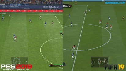 FIFA 19 vs PES 2019 - Full-HD Graphics Comparison