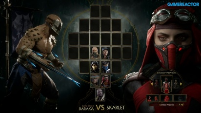 Mortal Kombat 11 - Baraka VS. Skarlet Reveal Event Gameplay