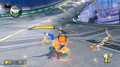 Mario Kart 8 Deluxe - Girl Inkling 150cc