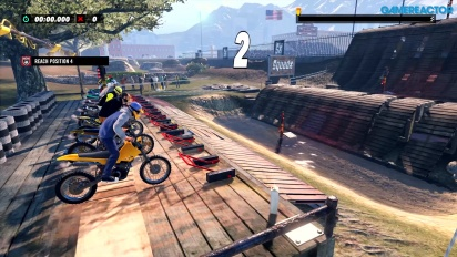 Trials Rising - Jogabilidade PS4