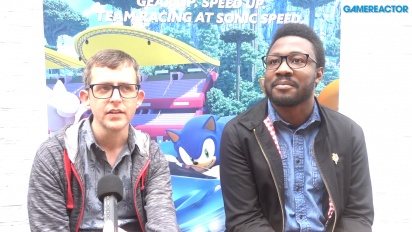 Team Sonic Racing - Derek Littlewood and Ben Wilson Interview