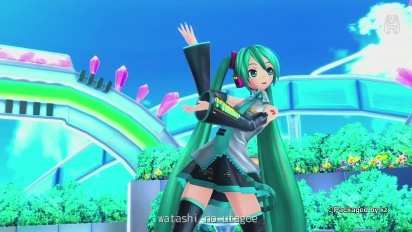 Project Diva F 2nd - Her Voice Reaches You Trailer