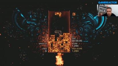 Uma Hora com Tetris Effect