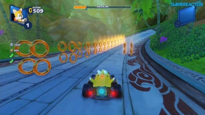 Team Sonic Racing - Ring Challenge em Lost Palace
