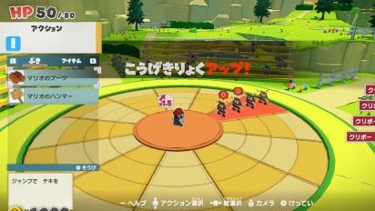Paper Mario: The Origami King - Combat Gameplay